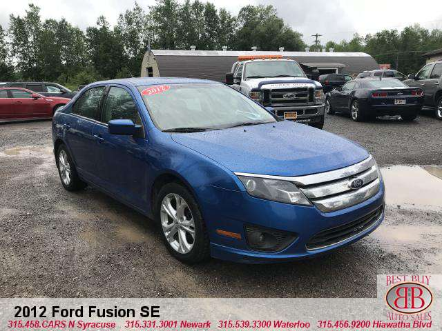 Vehicle Inquiry 2012 Ford Fusion Se Best Buy Auto Sales 7365